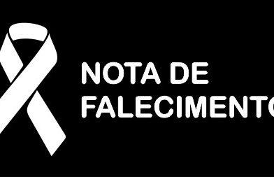 NOTA DE FALECIMENTO / Antônio Carneiro Martins