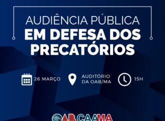 AUDIÊNCIA PÚBLICA EM DEFESA DOS PRECATÓRIOS.