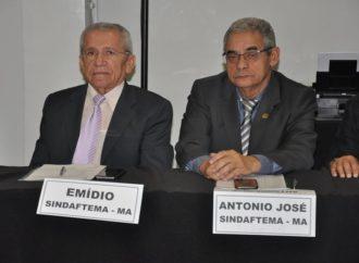 Sindaftema discute demandas da categoria em Brasília.