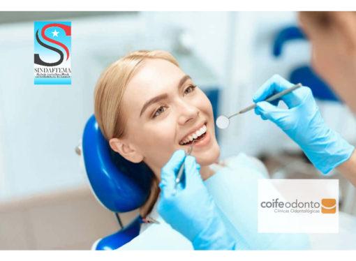 Filiados do Sindaftema passam a ter cobertura odontológica na rede credenciada Coife Odonto.