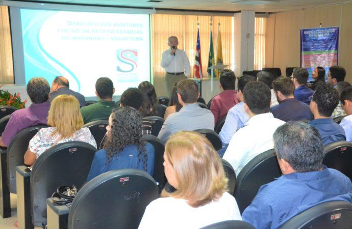 Sindaftema participa de abertura do II Curso de Formação dos novos servidores da Secretaria de Estado da Fazenda.