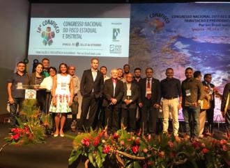 Dirigentes do Sindaftema participam do 18º Conafisco em Pernambuco.