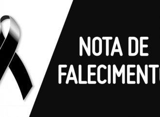 Nota de Falecimento / José Costa Almeida.