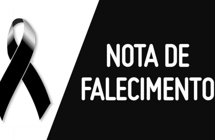 Nota de Falecimento / Pedro Pereira da Costa Neto.